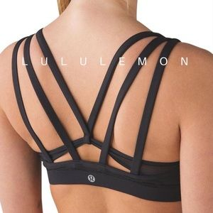 NWOT • Lululemon black sports bra